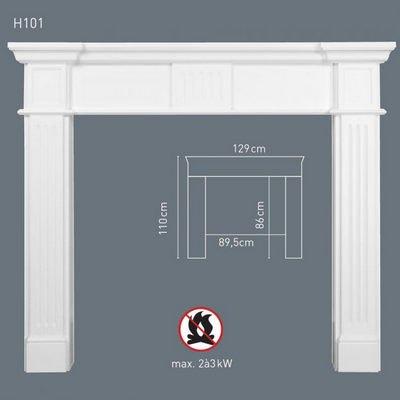 портал для камина orac decor h101