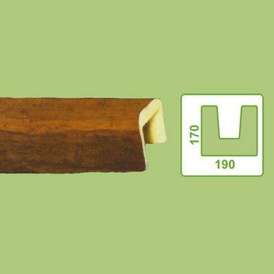 балка декоративная decowood eq004 светлая