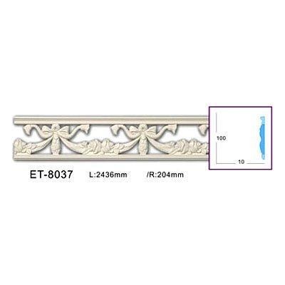 молдинг с орнаментом (фоновый) classic home et-8037