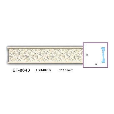 молдинг с орнаментом classic home et-8640