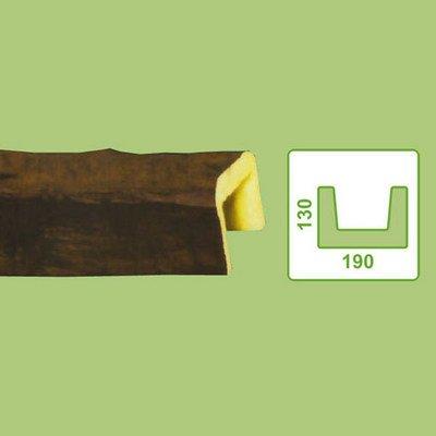 балка декоративная decowood eq005 темная