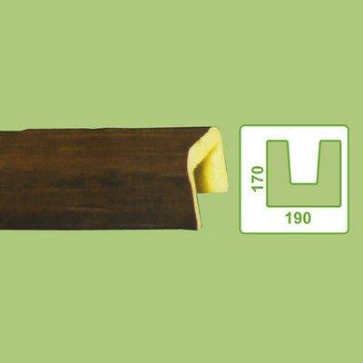 балка декоративная decowood ed104 темная