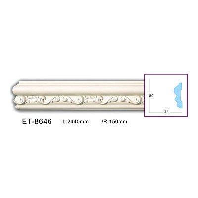 молдинг с орнаментом classic home et-8646