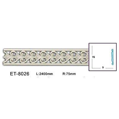 молдинг с орнаментом (фоновый) classic home et-8026