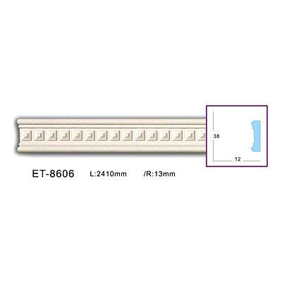 молдинг с орнаментом classic home et-8606