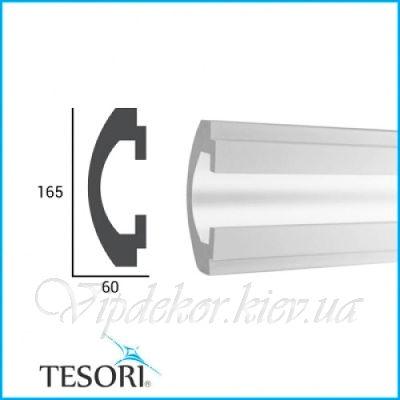 Карниз для скрытого освещения TESORI KD 112