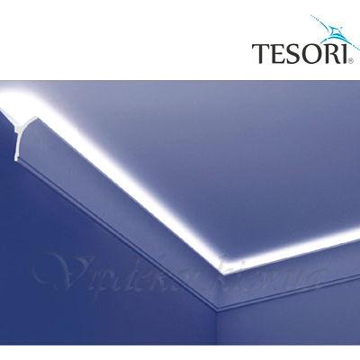 Карниз для скрытого освещения TESORI KF 704
