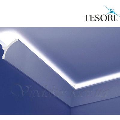 Карниз для скрытого освещения TESORI KF 708