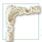 Угловой элемент Gaudi Decor CF612