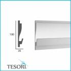Карниз для скрытого освещения TESORI KD 405