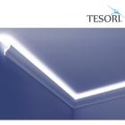 Карниз для скрытого освещения TESORI KF 701
