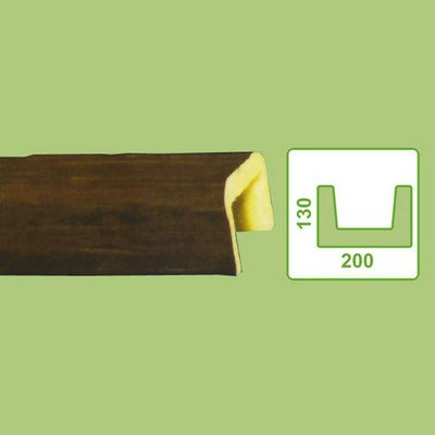 балка декоративная decowood ed105 темная