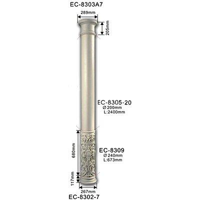 колонна classic home ec-8305-20