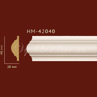 Молдинг гладкий Classic Home New HM-42040