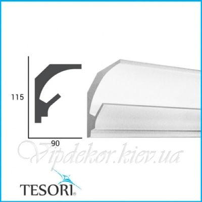 Карниз для скрытого освещения TESORI KD 201