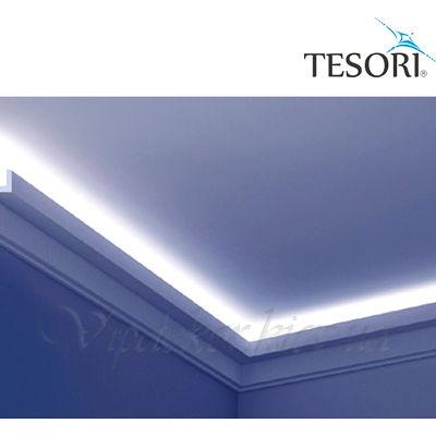 Карниз для скрытого освещения TESORI KF 705