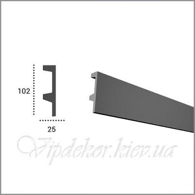 Карниз для скрытого освещения TESORI KF 504