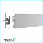 Карниз для скрытого освещения TESORI KD 301