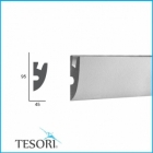Карниз для скрытого освещения TESORI KD 304