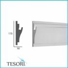 Карниз для скрытого освещения TESORI KD 403