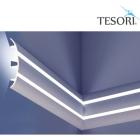 Карниз для скрытого освещения TESORI KF 502
