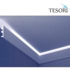 Карниз для скрытого освещения TESORI KF 505