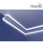 Карниз для скрытого освещения TESORI KF 703